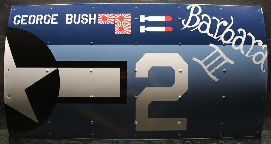 george-h-w-bush-tbm-avenger-replica-sign